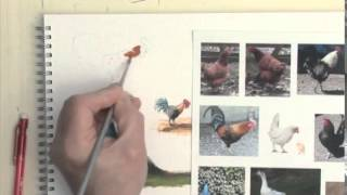 Painting Figures in Acrylics - Hens, Ducks, Geese
