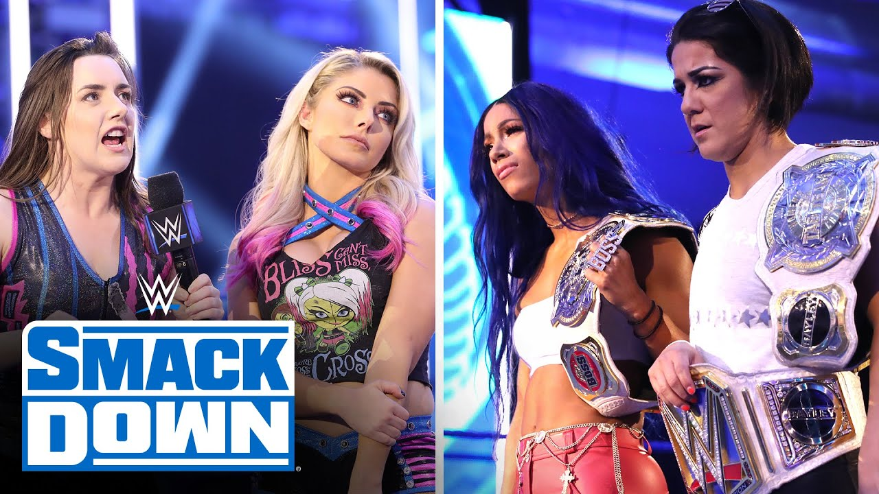 Download Bayley & Sasha's self-organized tribute gets derailed by Bliss & Cross: SmackDown, July 3, 2020