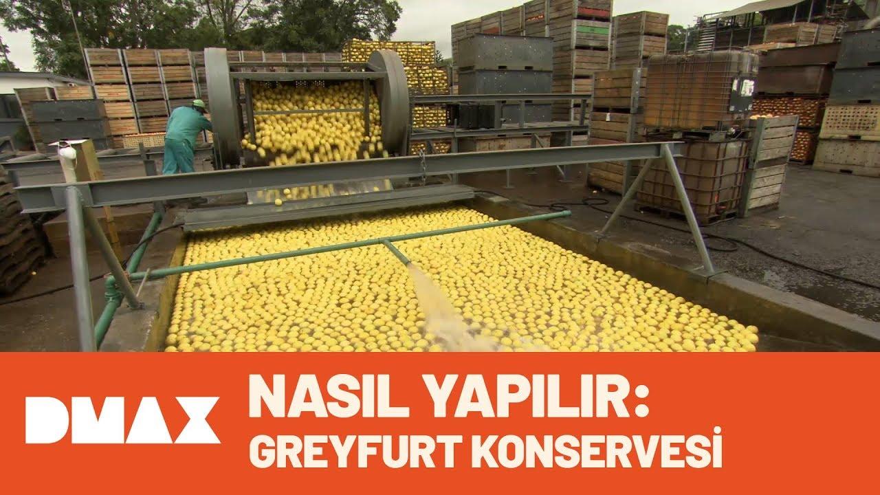 Nasıl Yapılır: Greyfurt Konservesi