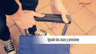 Carro Rolser Plegamatic MF 2 Ruedas Plegable video