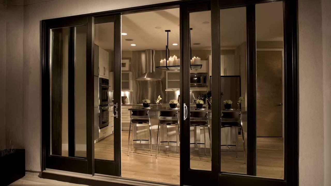 Double Patio Doors Exterior For Home Youtube
