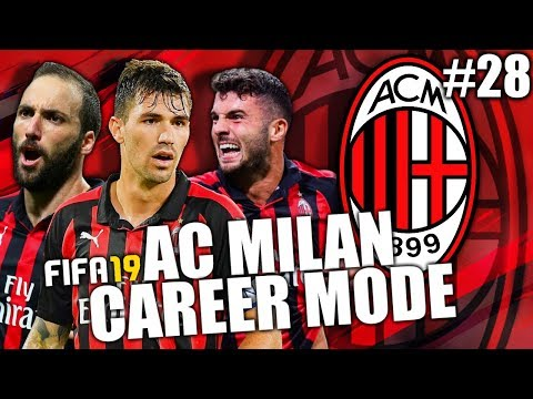 FIFA 19 | AC MILAN CAREER MODE | #28 | LATE GAME DRAMA IN THE DERBY!!!