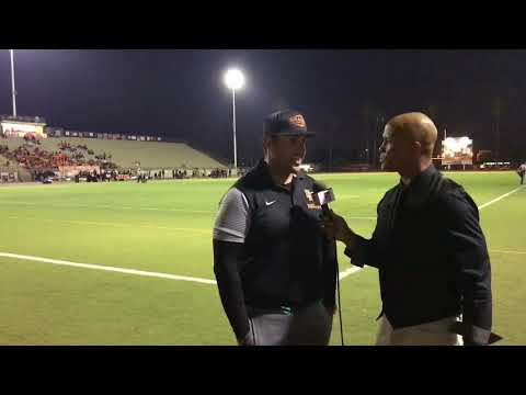 Robert Pedroza Orange Panthers Interview with David Hill- LIVE HIGH SCHOOL FOOTBALL