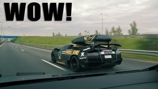 Lamborghini Murcielago LP670-4 SV - LOUD SOUNDS!
