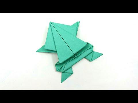 How to Make Paper Frog?   कागज का मेंढक कैसे बनाये?   Kagaj ka Mendak Kaise banaye? #PaperFrog