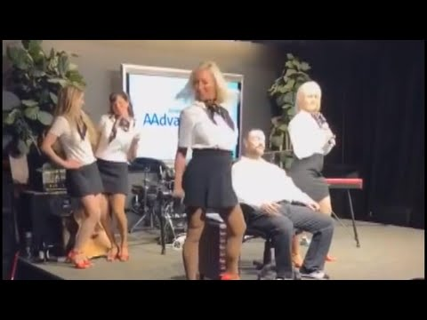 Jimmy Elliott - VIDEO: Off-Duty Flight Attendants Perform Sexy Number for Charity