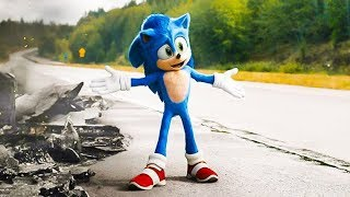 Sonic The Hedgehog All Clips & Trailers (2020) HD