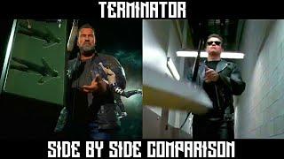 MK 11 - Terminator Intros/Outros Compared to Movie Scenes