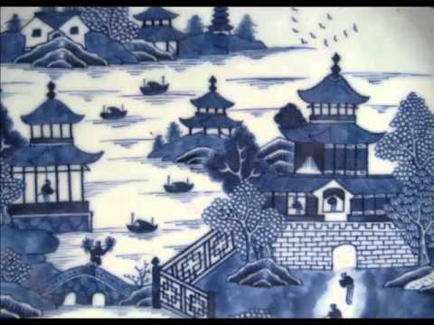 Porcelain Blue | Decorative Picture Set Of Rare & Beautiful Arts
