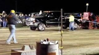 Chevy Durumax breaks tie rod end pulling the sled