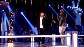 The Voice UK 2013 | Jamie Bruce Vs LB Robinson - Battle Roun...