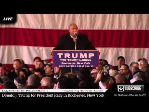 FULL SPEECH - Donald Trump (4-10-16) Rochester New York Rally
