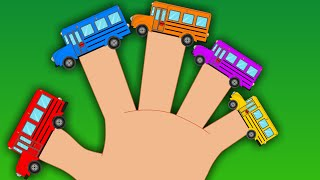 Bus Finger Family | Kids Songs And Rhymes.