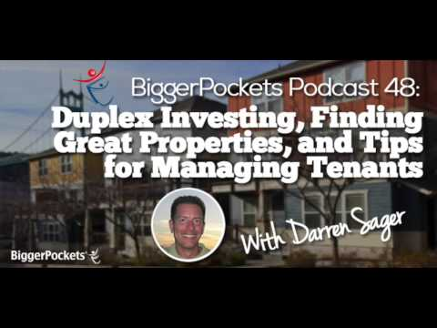 Duplex Investing, Finding Great Properties, and Tips for Managing Tenants | BP Podcast 048