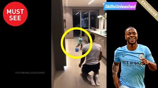 Sterling one-year-old son's incredible football ability 😍