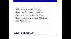 WEBINAR - Reverse Mortgage for Home Purchase