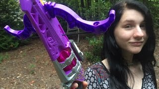 honest review the nerf rebelle charmed fair fortune crossbow full unboxing and demo