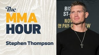 Stephen Thompson Thinks Israel Adesanya Will 'School' Anderson Silva at UFC 234