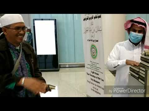 Proses Pemulangan  Jamaah Haji 2018 Via Bandara Internasional Madinah Prince Muhammed Bin Abdul Aziz