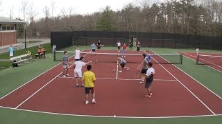 Tennis Game for Large Groups - All Touch Volleyball Tennis