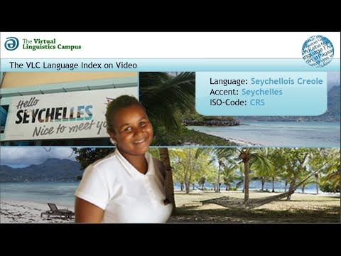 Seychellois Creole - The Language Index on Video