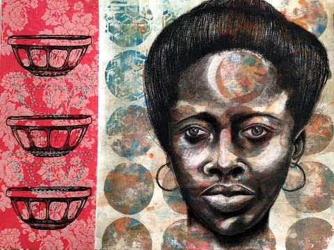 Artist Reconstructs Image Of An African American Woman