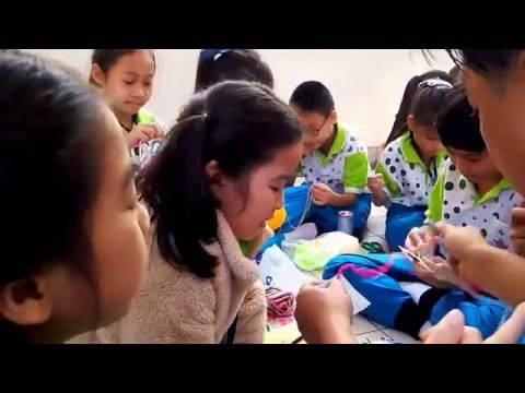 วิธีปักแผ่นเฟรม กิจกรรมการเรียนรู้ เด็ก EP.  Tiga & friend