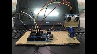 RADAR with ARDUINO ! DIY!  How to make a radar using arduino , step by step tutorial