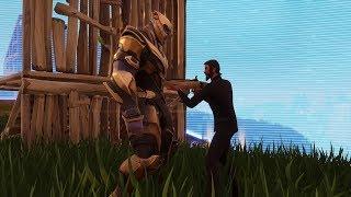 John Wick vs Thanos - Fortnite Battle Royale Gameplay