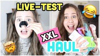 XXL DM HAUL + LIVE TEST