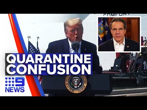 Coronavirus: Donald Trump