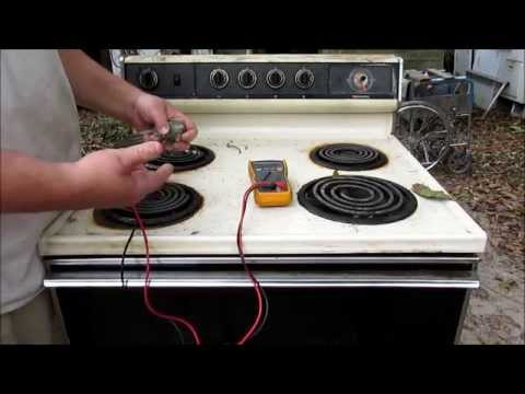 electric range diagnostic top burner wont work youtube. Black Bedroom Furniture Sets. Home Design Ideas