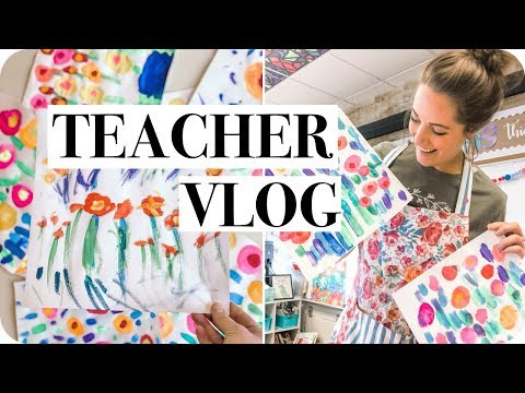 DAY IN THE LIFE OF A TEACHER VLOG // New Lessons, Behavior, PDFelement Editor