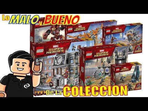 LEGO Marvel Super Heroes Avengers Infinity Wars Coleccion Completa