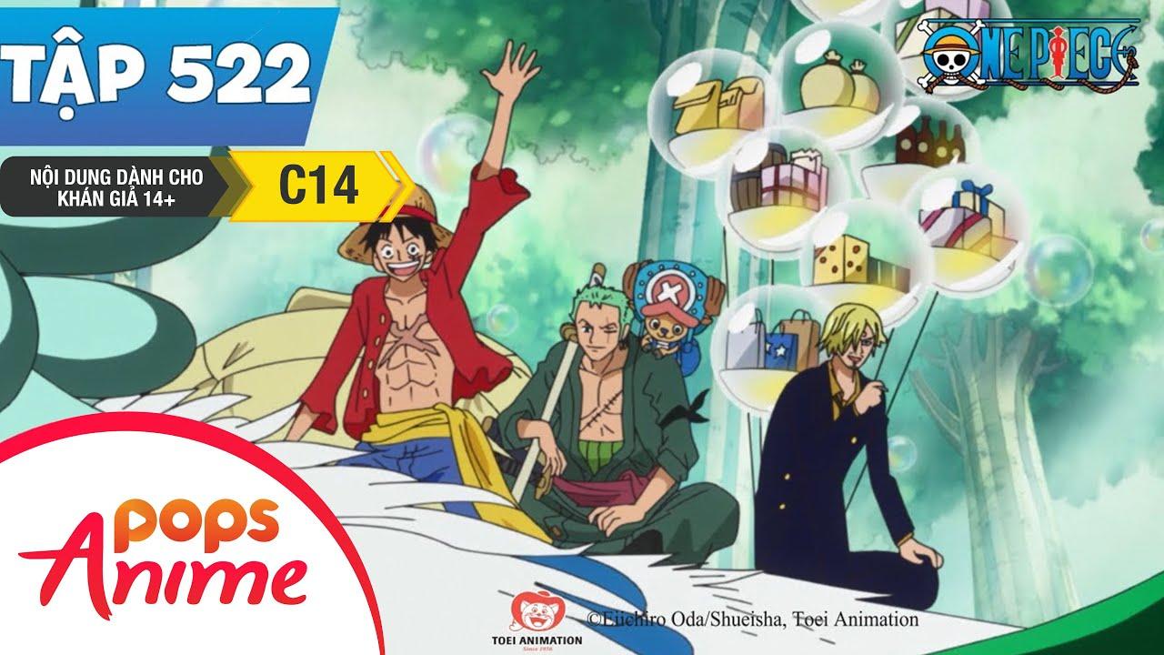 One Piece Tập 522 - Toàn Bộ Thành Viên Tập Hợp. Luffy Giông Buồm Tiến Về Tân Thế Giới - Đảo Hải Tặc