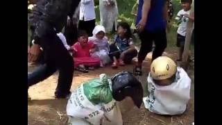 LUCU-LUCU Anak-Anak Lomba Balap Karung JAMAN NOW