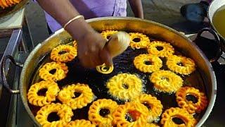 Ấn Độ mon ăn đường phố - chiên bánh kẹo Ấn Độ