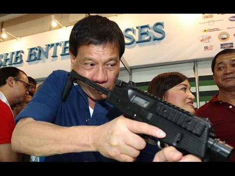 Philippines' President: I Love Personally Killing People!