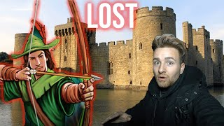 Abandoned Disney Robin Hood Castle Resort - Flooded basement