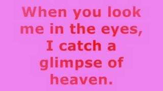 When You Look Me in The Eyes Lyrics