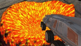 Jumping In Volcano #8 BeamNG.drive