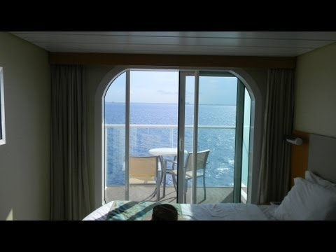 Allure Of The Seas Oceanview Balcony Stateroom Tour. Cabin #6682.