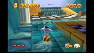 Glover Nintendo 64 Part 1: Intro + Atlantis