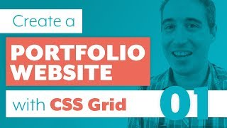How to create a Portfolio Website with CSS Grid & Sass | Part One: The Markup