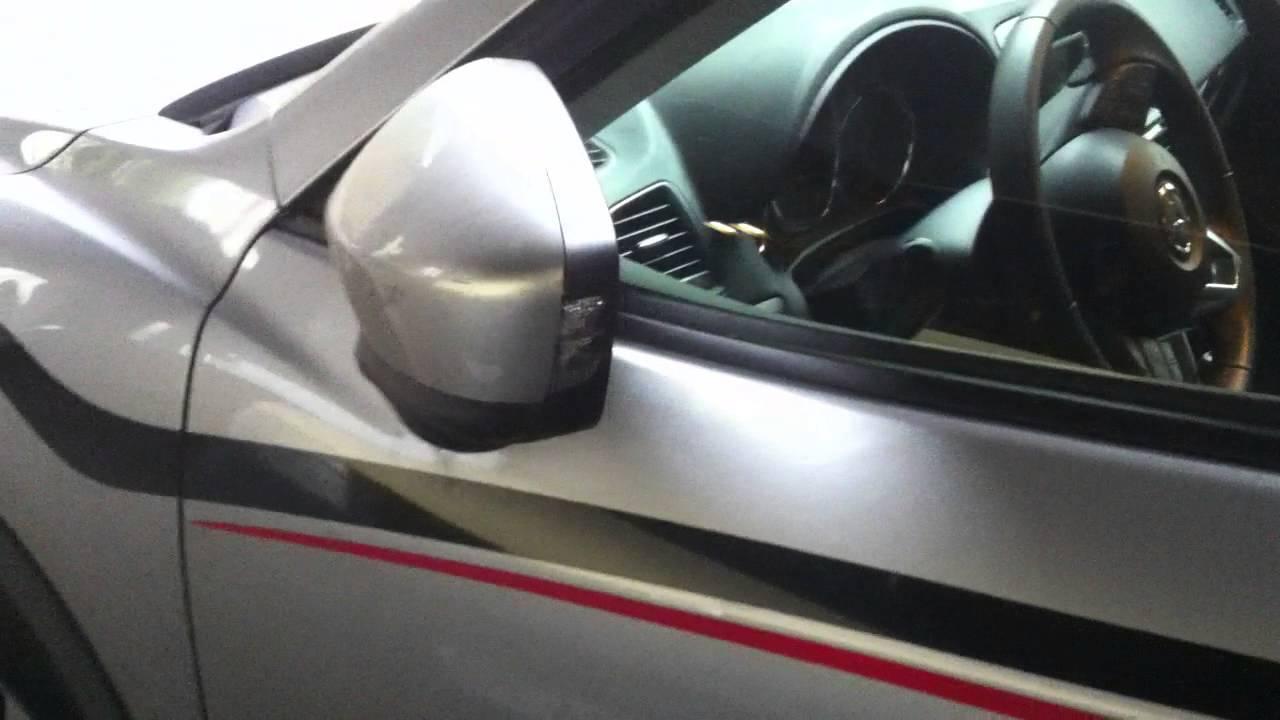 Mazda Cx 5 Auto Folding Side Mirrors Day Youtube