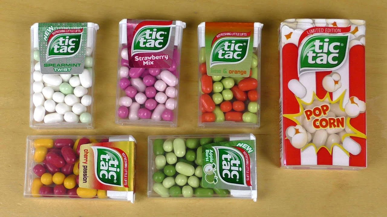 tic tac variety review including minions tic tacs