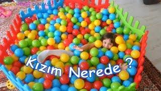 Top Havuzu - Kızım Nerede? - Eğlenceli Çocuk Videosu - Ocean Ball Pit Pool - Funny Kids Videos