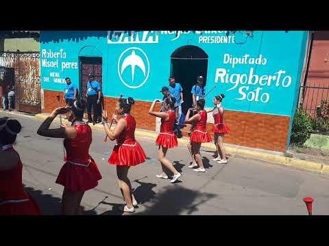 Pedro F Cantor Desfile de Correos en Jiquilisco 2019