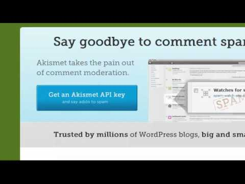 How To Setup Akismet To Prevent Blog Spam On Your Wordpress Blog