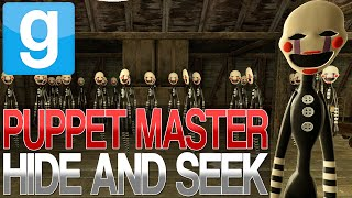 garry s mod   ultimate puppet master hide and seek   gmod five nights at freddy s 2 mini game
